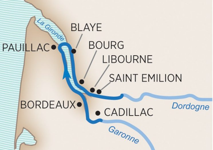 Taste of Bordeaux Wine Cruise