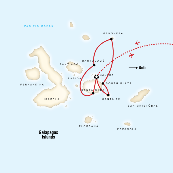 Galapagos North & Central Sailing