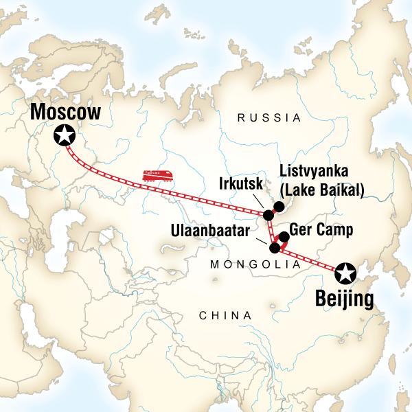 Trans-Mongolian G Adventures